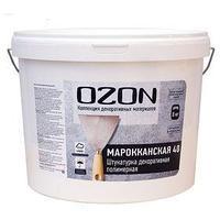Штукатурка декоративная OZON Марокканская 40 акриловая 8 кг