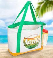 Сумка-термос пляжная с бутылочкой «KOMANDOR»