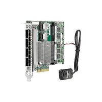 HP SAS Controller Smart Array P440/4GB FBWC/12G/int. Single mini-SAS port /PCIe3.0 X8/incl. h/h & f/h. Brckts (726821-B21)