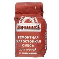 Ремонтная жаростойкая смесь для печей и каминов 'Печникъ'  3,0 кг (комплект из 2 шт.)
