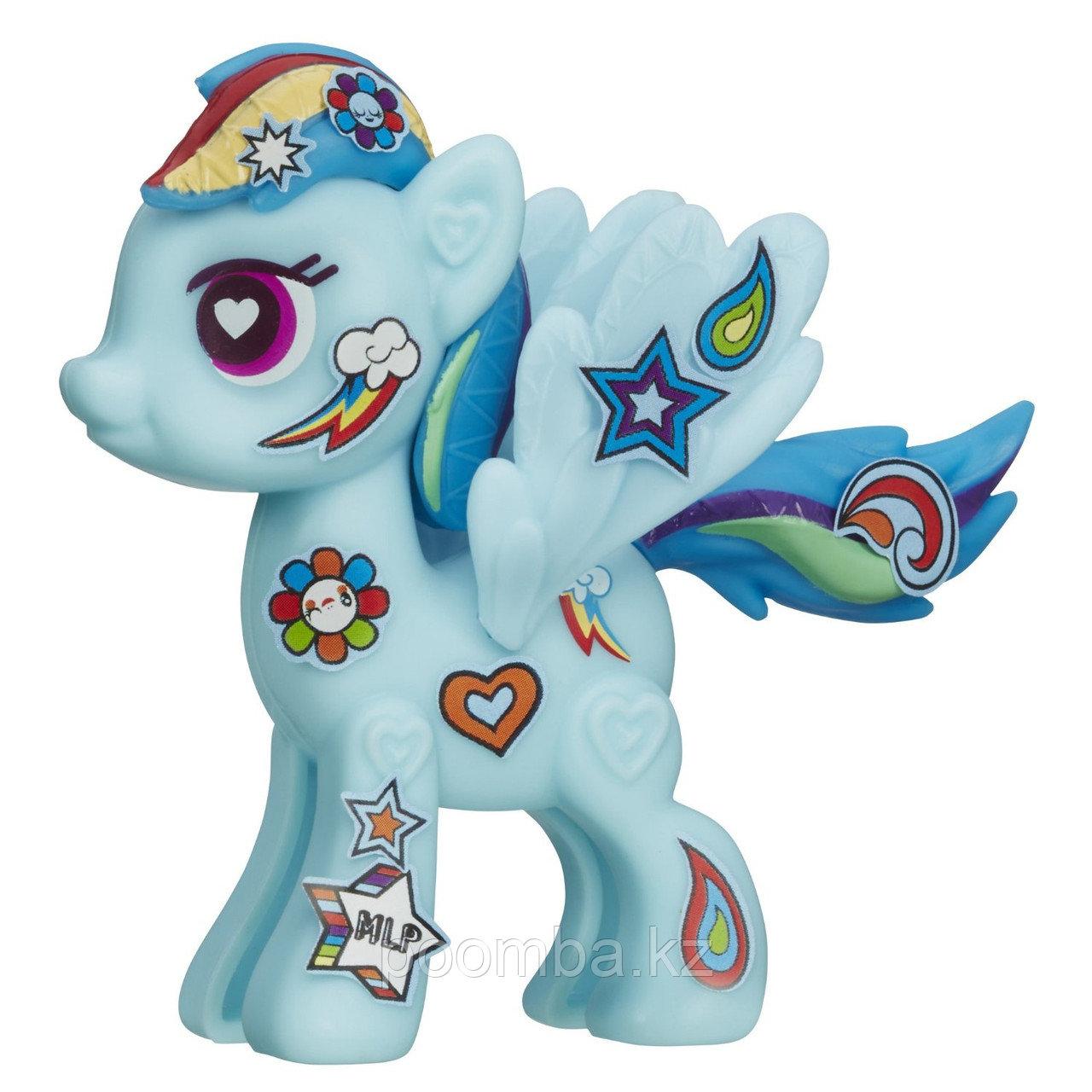"""Поп-конструктор My Little Pony """"Создай свою пони"""" - Радуга Дэш"""