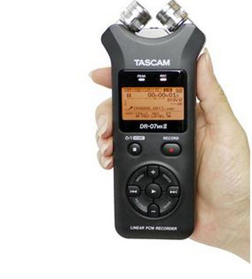 Аудио рекордер tascam dr-07+2GB SD карта памяти