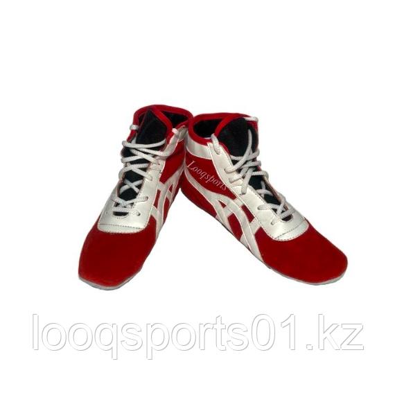Обувь для самбо велюр (самбовки, борцовки)