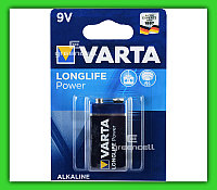 Батарейка Varta 9v  Longlife Power Alkaline