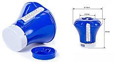 Поплавок-дозатор BestWay 58209 BW с термометром, 18,5 см, для химии в таблетках