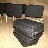 Ценник черный, меловый размером с визитку, фото 3