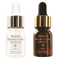 Ампульная сыворотка Deoproce Double Care Ampoule Day & Night Single Pack
