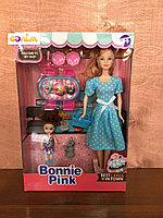 Кукла в наборе с кухней Bonnie Pink