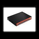 Wi-Tek WI-PS210G Неуправляемый коммутатор с функцией PoE для CCTV, фото 2