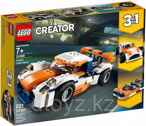 Lego Creator 31089 Оранжевый гоночный автомобиль, Лего Криэйтор