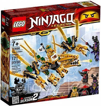 Lego Ninjago 70666 Золотой Дракон, Лего Ниндзяго