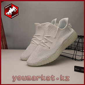 Adidas Yeezy 350 Vol.2 All White by Kanye West , фото 2