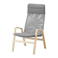 Кресло c высокой спинкой НОЛЬБИН, ИКЕА, IKEA, фото 1