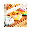 Румбокс Кондитерская со светодиодной подсветкой DIY House Ice Cream Station, фото 3