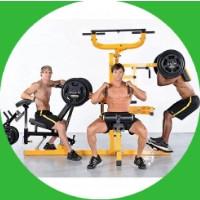 Силовые тренажеры со свободными весами