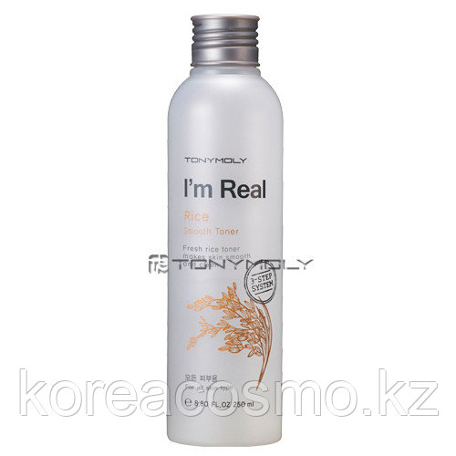 Тоник для кожи лица Tony Moly I'm Real Rice Smooth Toner