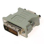 Includes 1 DVI-A to VGA adapter