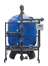 Промышленные системы фильтрации Aqualine c боковой обвязкой (FRP Tank)