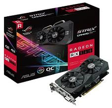 Видеокарта ASUS RX560 ROG-STRIX-RX560-O4G-GAMING 4GB/128Bit GDDR5 BOX