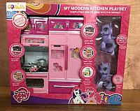 Набор кухни My Little Pony розовая с Пони-единорогами (2шт.)