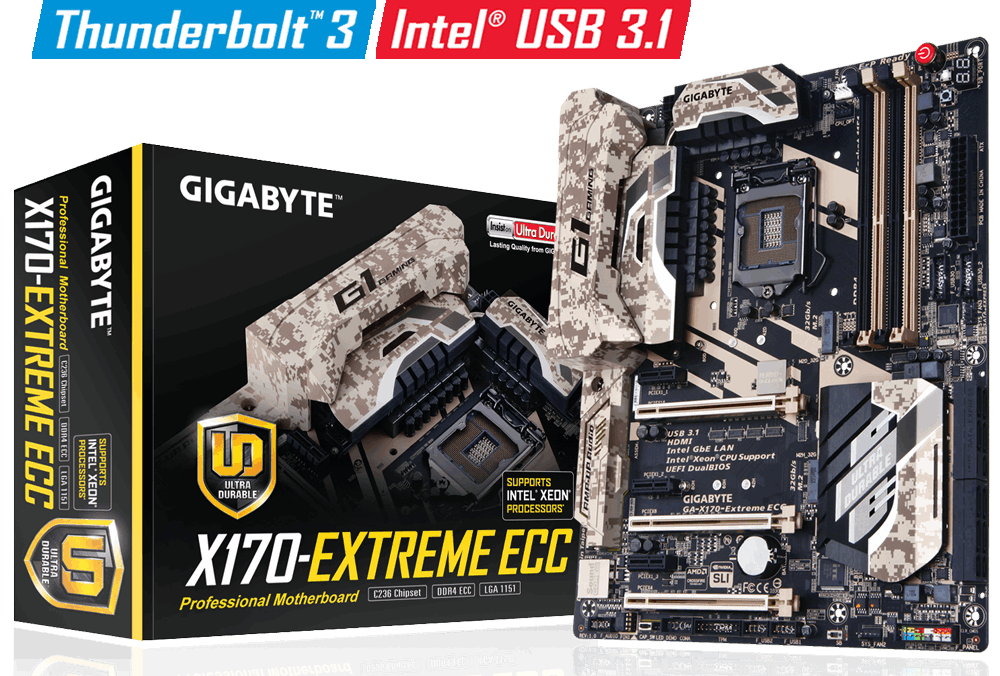 Материнская плата Gigabyte GA-X170-Extreme