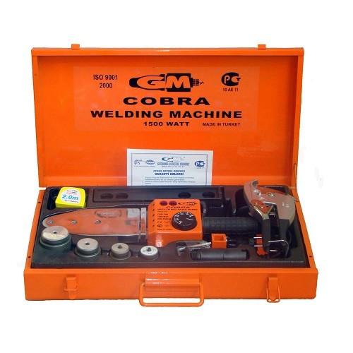 Комплект монтажного инструмента KALDE GM Cobra - 1.5 кВт (для полипропилен.труб диаметром до 63 мм)