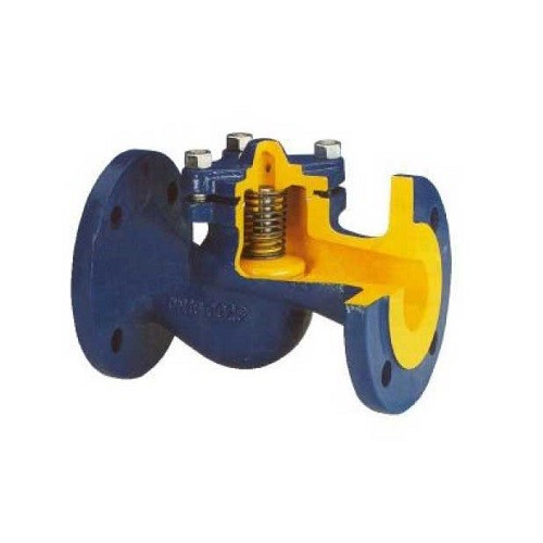 Клапан обратный BROEN V287 - Ду50 (Фланец/Фланец,  PN16, Tmax 300°C, чугун)