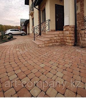 Брусчатка, тротуарная плитка, ступени