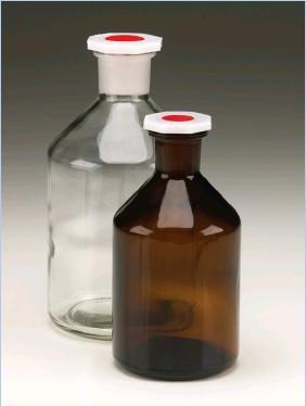 Бутыль для химреактивов с п/э пробкой (250 мл), шлиф 19/26 (MBL)