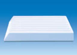 Лоток пластиковый 9-секционный для емкостей диаметром до 25 мм, 355х300х45 мм (PVC) (VITLAB)