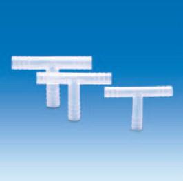 Переходник Т-образный полипропиленовый для шлангов с внутр.d-10-11 мм (PP) (VITLAB)
