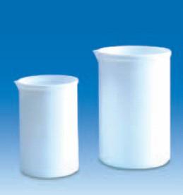 Стакан фторопластовый 250 мл, непрозрачный, стойкий к высоким температурам и химическим реагентам, PTFE (VITLAB)