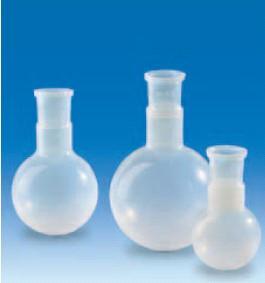 Колба круглодонная фторопластовая, V-500 мл, шлиф 29/32 (PFA) (VITLAB)