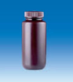 Бутыль широкогорлая полиэтиленовая, темная, V-60 мл, для хранения светочувствительных в-в, винт.крышка (PE-HD) (VITLAB)