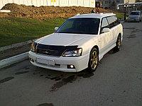 Мухобойка (дефлектор капота) на Subaru Legacy/Субару Легаси 1998-2002, фото 1