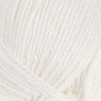 Пряжа 'Бамбино' 35 шерсть меринос, 65 акрил 150м/50гр (205, белый) (комплект из 3 шт.)