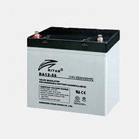 Аккумулятор 12В 55А·ч Ritar RA12-55, 228x138x213