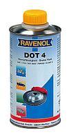 Тормозная жидкость RAVENOL® DOT 4  0,5литра