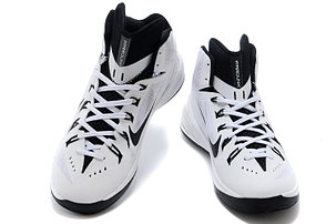 Баскетбольные кроссовки Nike Lunar Hyperdunk 14 ( XIV ) бело-черные, фото 2