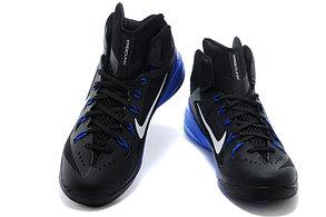 Баскетбольные кроссовки Nike Lunar Hyperdunk 14 ( XIV ) черно-синие, фото 2