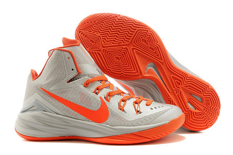Nike Lunar Hyperdunk 14 ( XIV ) бело-оранжевые, фото 2