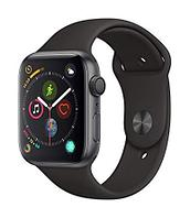 Apple Watch Series 4 44mm Aluminum Case with Black sport Band