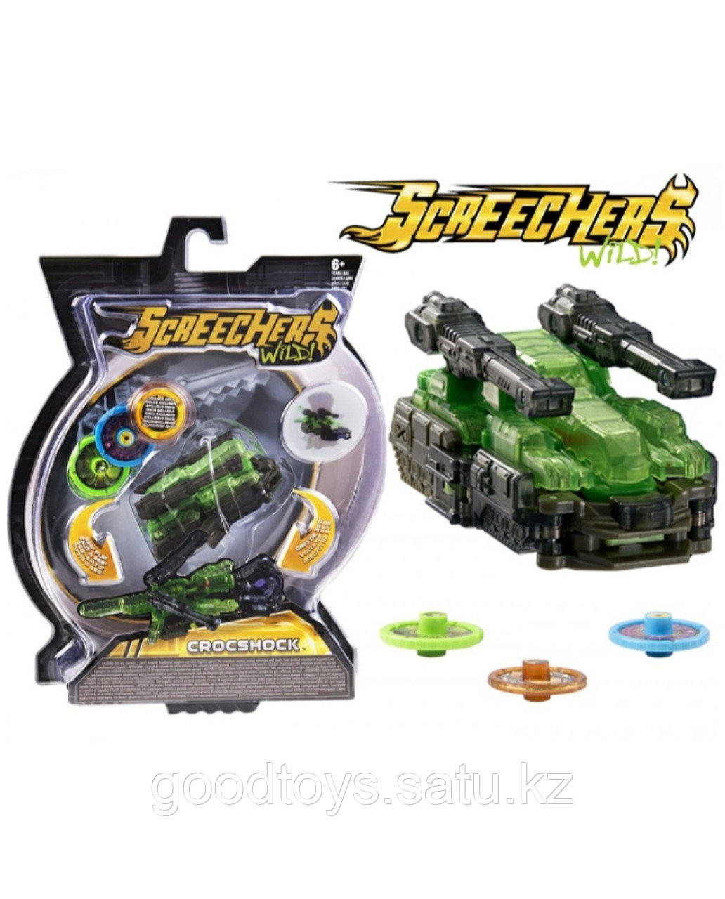 Screechers wild Crocshock original