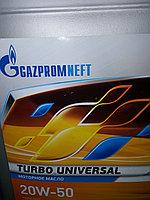 Моторное масло Газпром Турбо Универсал 20W50 10литров