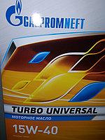 Моторное масло Газпром Турбо Универсал 15W40 50литров, фото 1