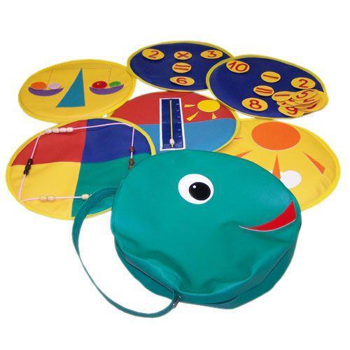 «Головастик» игрушка  дидактическая(сумка с вкладышами 6 шт.)