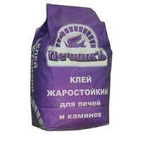 Клей жаростойкий для бытовых печей и каминов 'Печникъ' 10кг