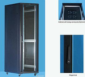 """Шкаф телекоммуникационный 19"""" 22U,600*800*1166 серый Server case Toten G76822.8100"""