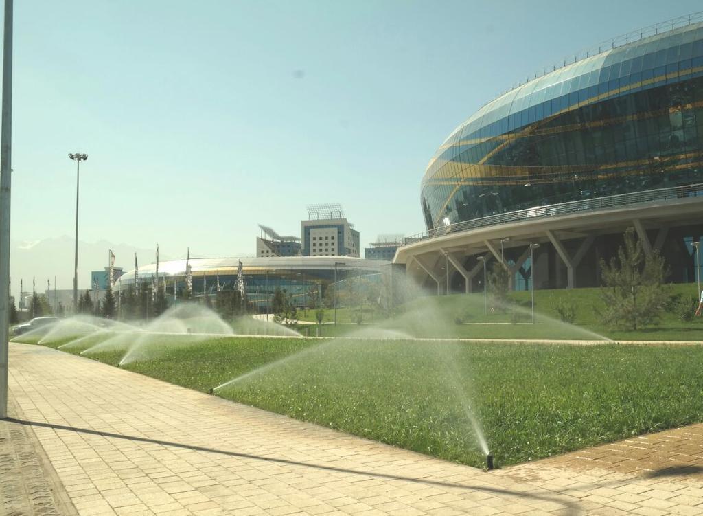 Almaty Arena, Спортивный ледовый комплекс