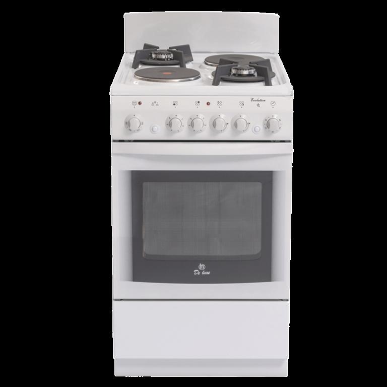 Газовая плита с электрической духовкой De Luxe 506022.04 гэ щ